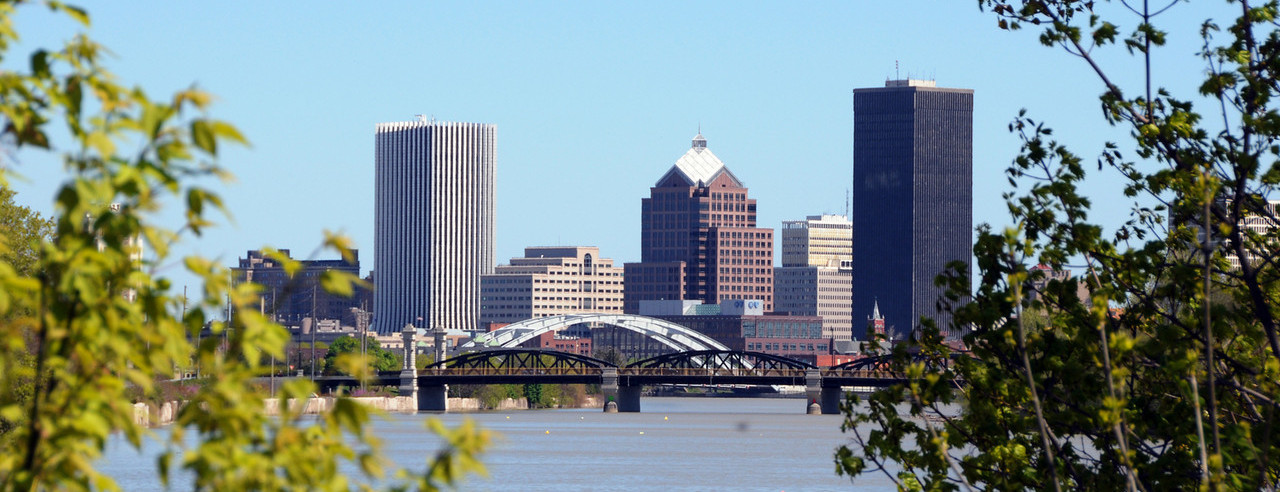 Rochester City Skyline