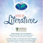 Cities of Literature event poster