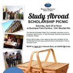 scholarship picnic poster